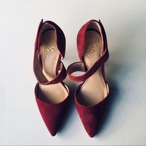 Vince Camuto Maroon shoes